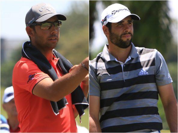 Pablo Larrazábal y Adrián Otaegui. © Golffile | Thos Caffrey