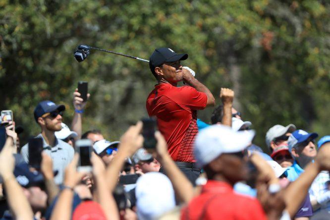 Tiger Woods, este domingo en el Valspar Championship.