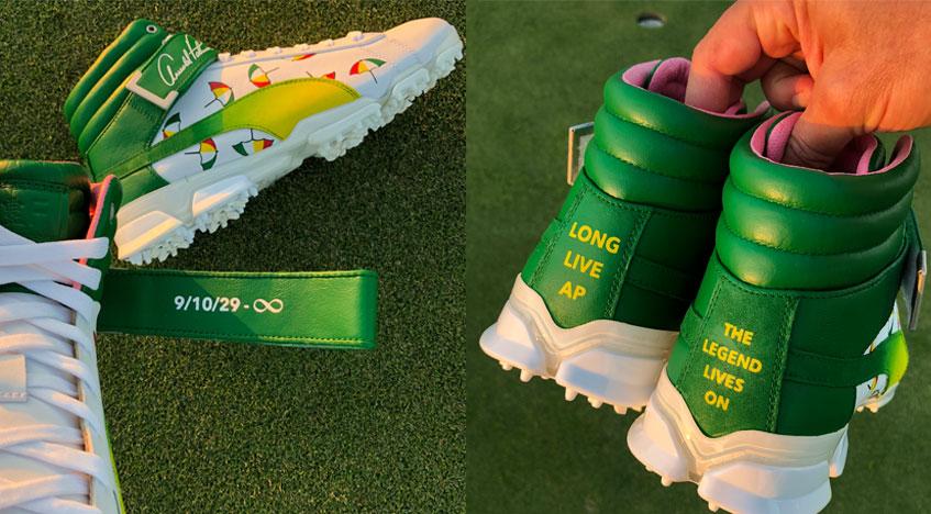 Puma Golf personalizadas de Rickie Fowler © PGA Tour