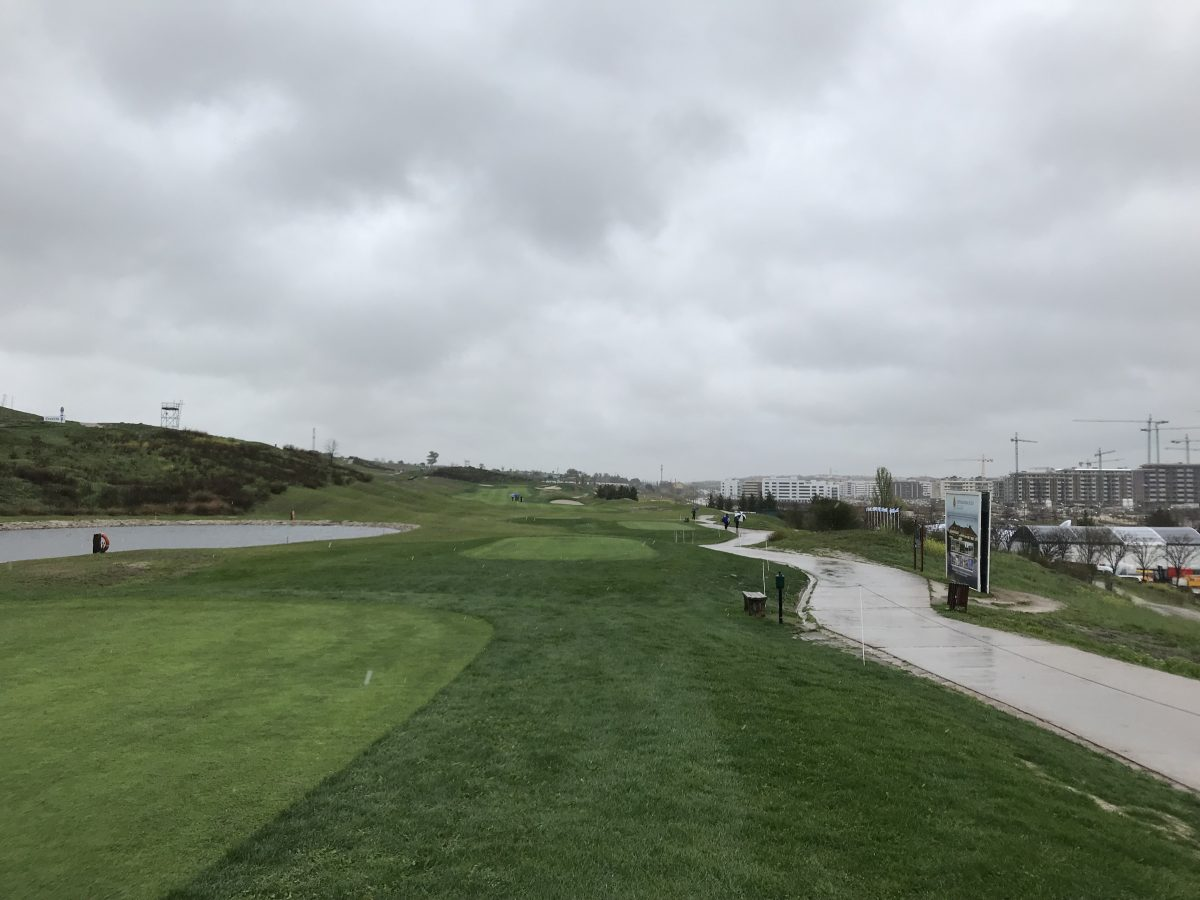 El Centro Nacional de Golf hoy martes. © Tengolf