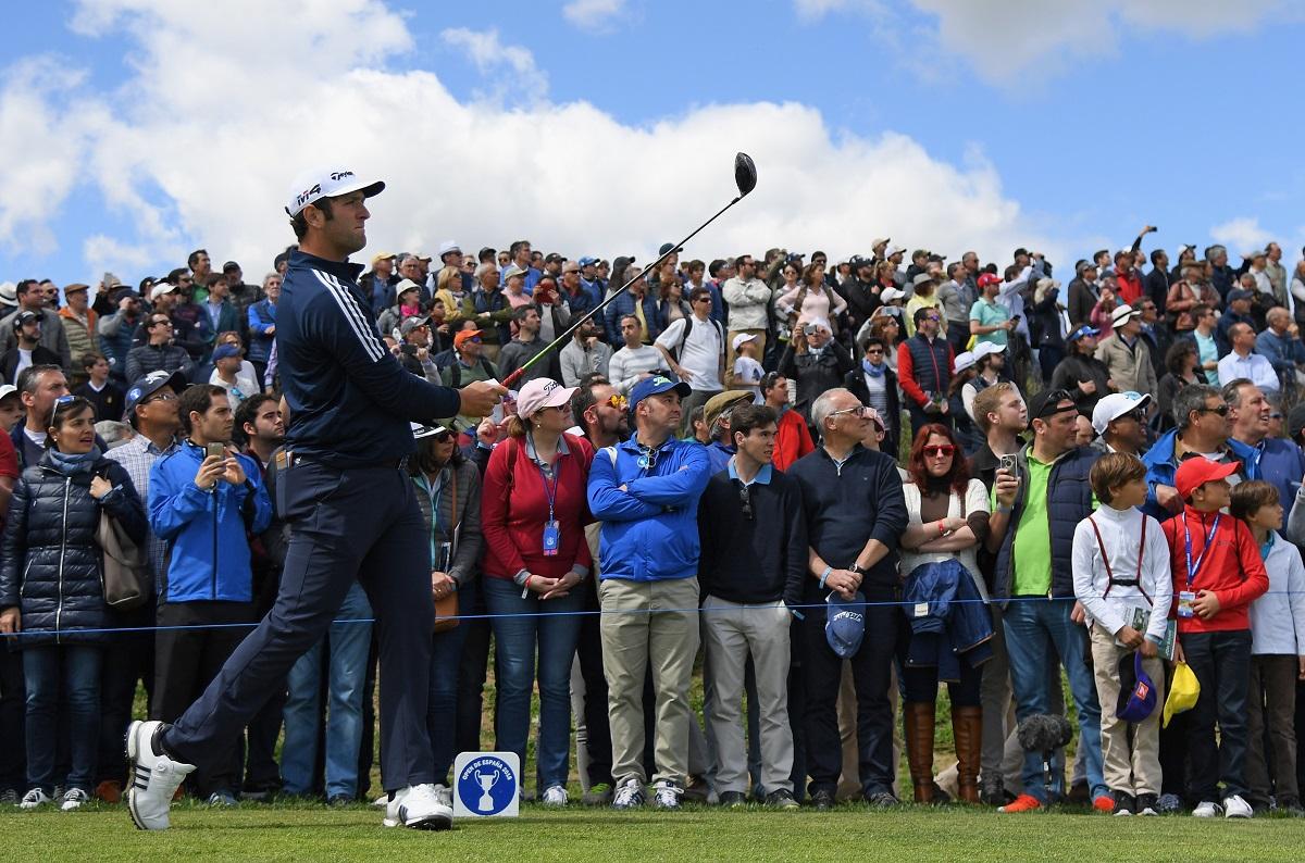 Jon Rahm en el Open de España 2018. © Ross Kinnaird/Getty Images