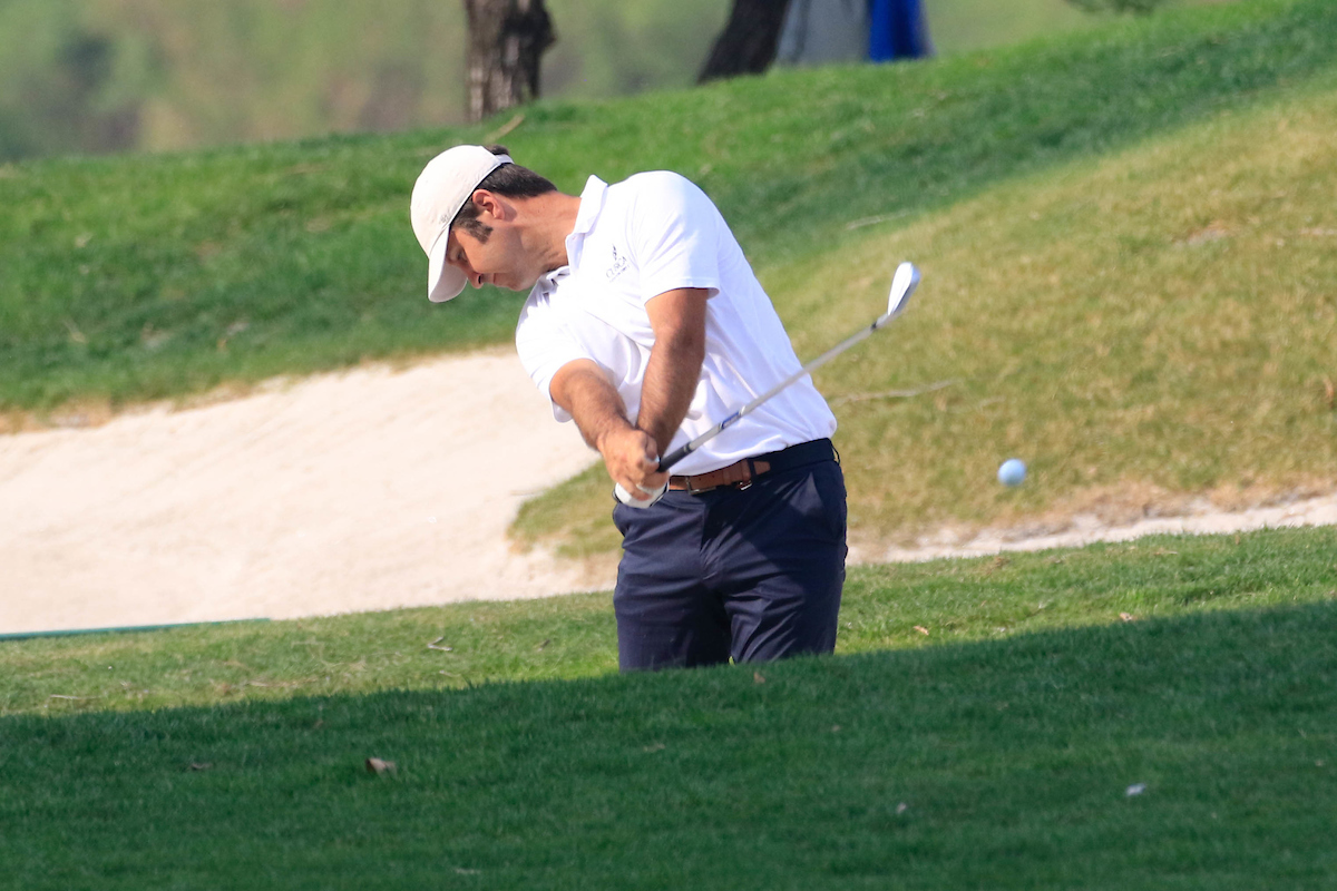 Jorge Campillo en la tercera ronda en China. © Golffile | Phil Inglis