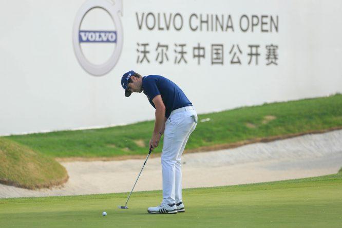 Nacho Elvira hoy sábado en el Topwin Golf. © Golffile | Phil Inglis
