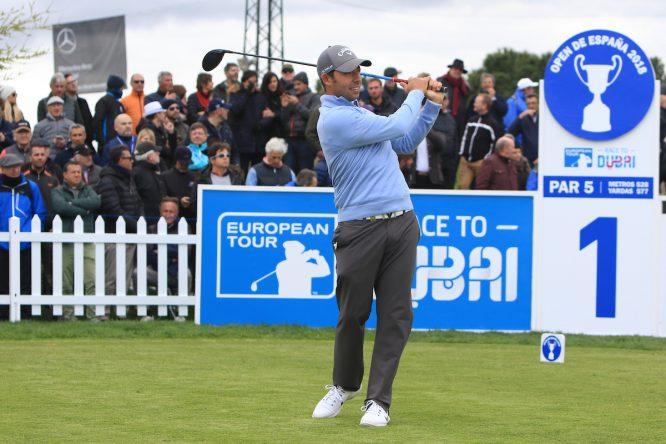 Pablo Larrazábal en el Open de España 2018. © Golffile | Thos Caffrey