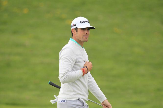 Nacho Elvira en la ronda final del Open de España. © Golffile | Thos Caffrey