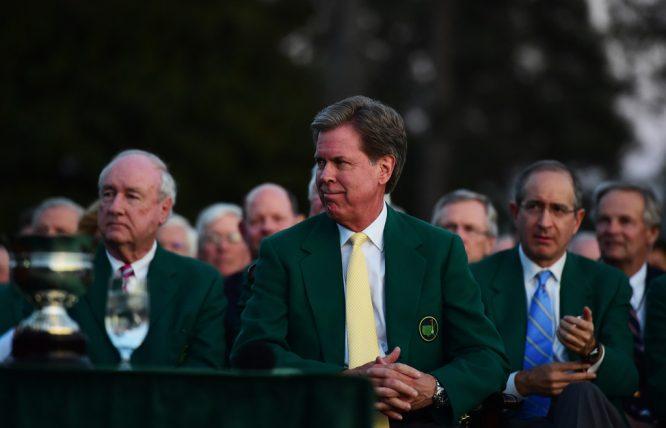 Fred Ridley, presidente de Augusta National.