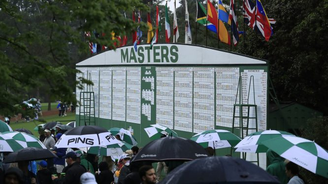 The Masters © Augusta National