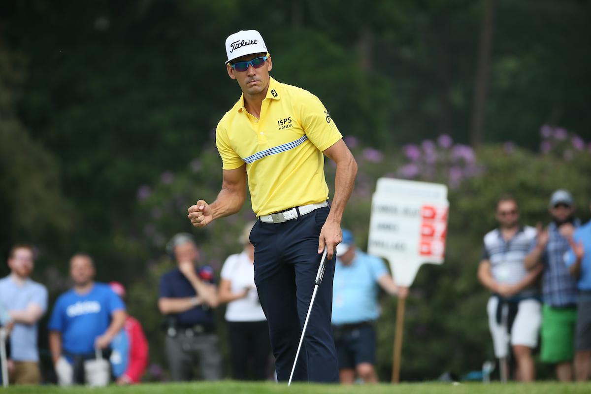 Rafa Cabrera Bello en la jornada final del BMW PGA. © Golffile | David Lloyd