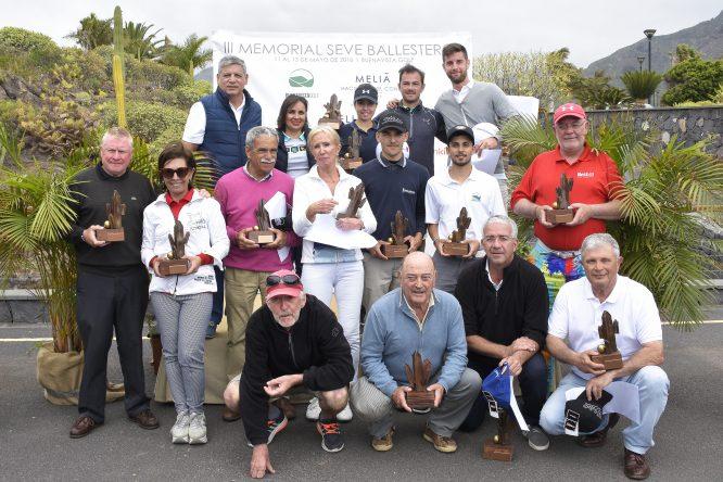 Ganadores del Torneo Amateur III Memorial Seve Ballesteros. © Paulino Díaz