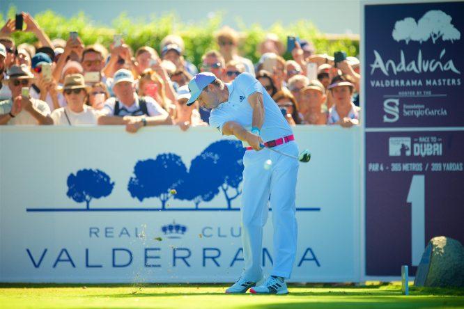 Sergio García, durante el Andalucía Valderrama Masters del año pasado. © RCV