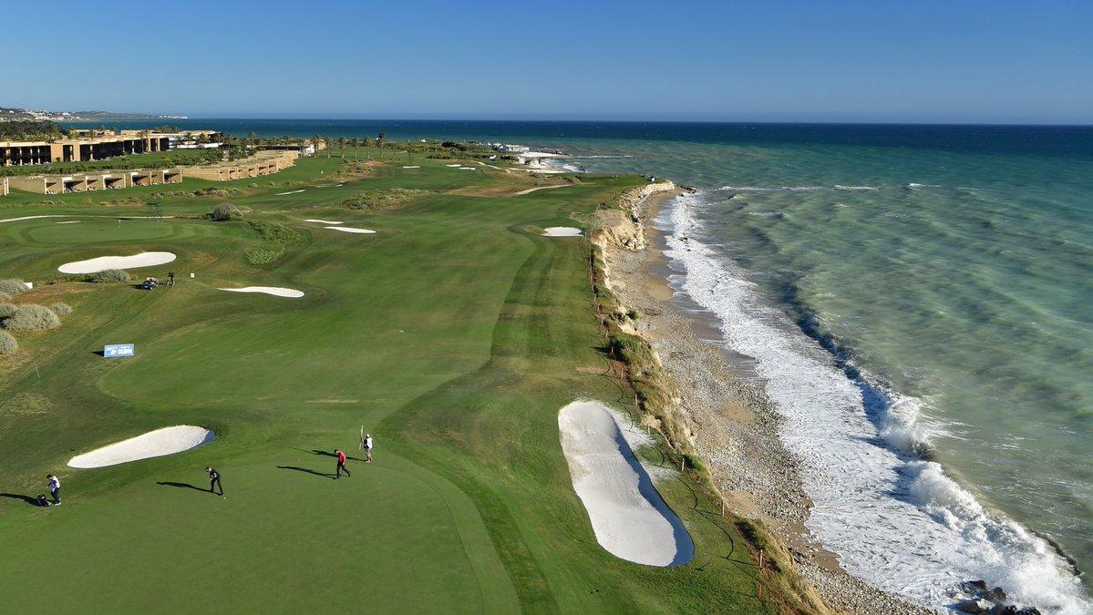 Vista aérea del Verdura Golf Club. © Twitter European Tour