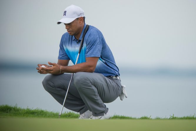 Tiger Woods. © Anthony Power