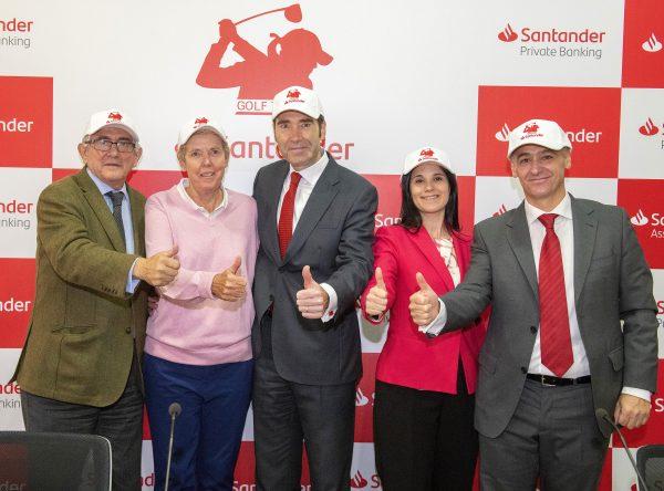 Presentación del Santander Golf Tour