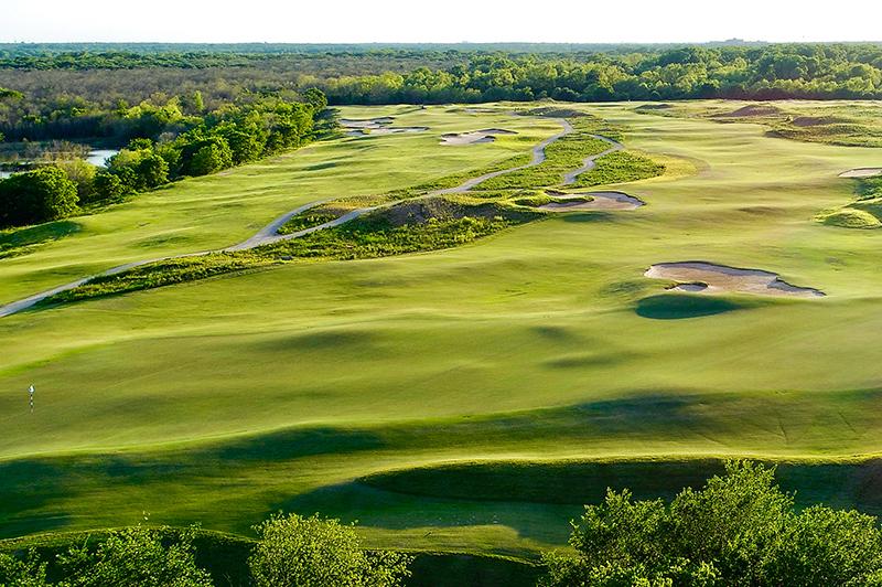 Trinity Forest Golf Club.