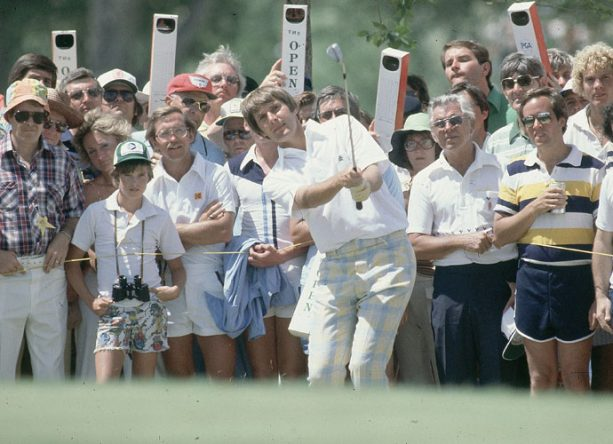 Andy North, ganador del US Open 1978 en Cherry Hills.