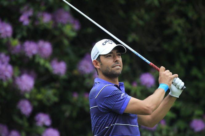 Pablo Larrazábal en el BMW PGA Championship 2018 en Wentworth Golf Club. © Golffile | Thos Caffrey