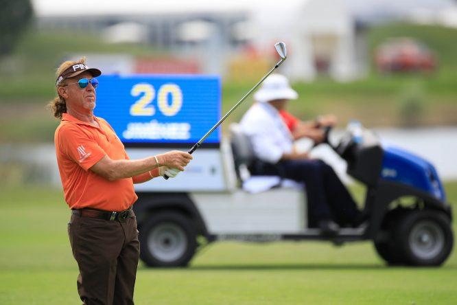 Da la sensación de que Miguel Ángel Jiménez detuvo el tiempo cuando llegó a los 20 años. © Golffile | Phil Inglis