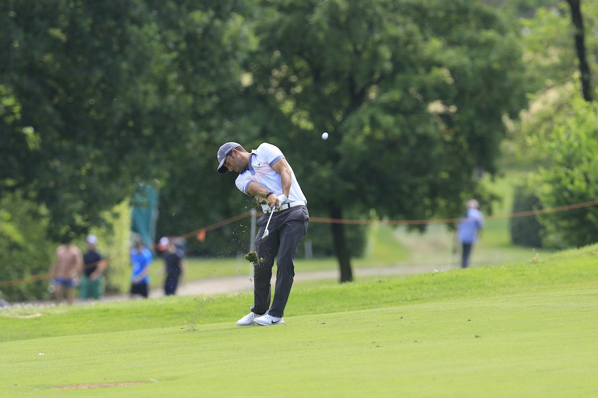 Pablo Larrazábal durante la primera jornada del Open de Italia. © Golffile | Eoin Clarke