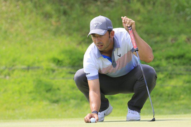 Pablo Larrazábal, esta semana en el Open de Italia. © Eoin Clarke   Golffile