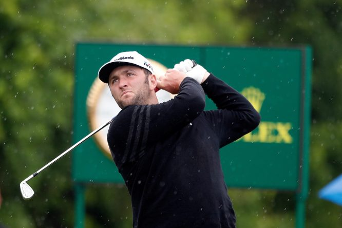 Jon Rahm en el US Open 2018 de Shinnecock Hills. © Golffile | Brian Spurlock