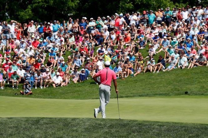 Tiger Woods, en el Memorial © Golffile | Brian Spurlock