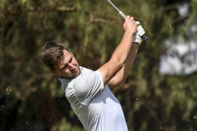 26-03-17 European Challenge Tour 2017, Barclays Kenya Open, Muthaiga GC, Nairobi, Kenya. 22-26 Mar. Christian Braeunig of Germany during the final round. © golfsupport.nl