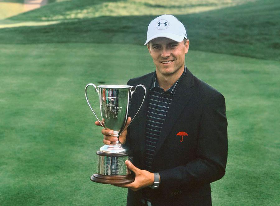Jordan Spieth, ganador en 2017 © Travelers Championship