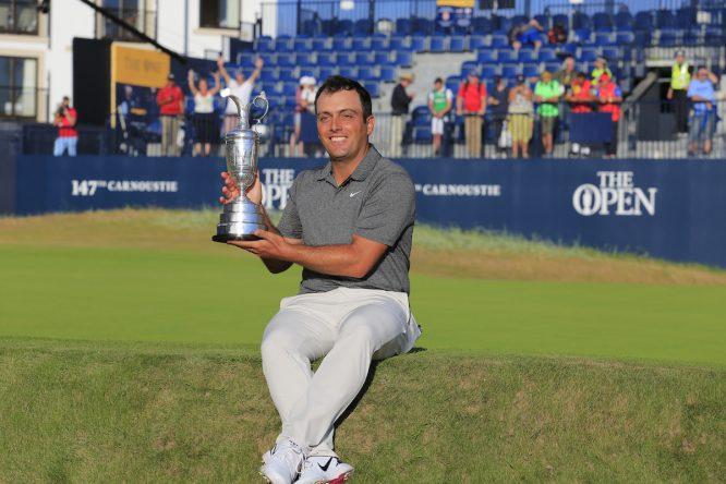 Francesco Molinari, ganador de la 147ª edición del Open Championship. © Golffile | Fran Caffrey