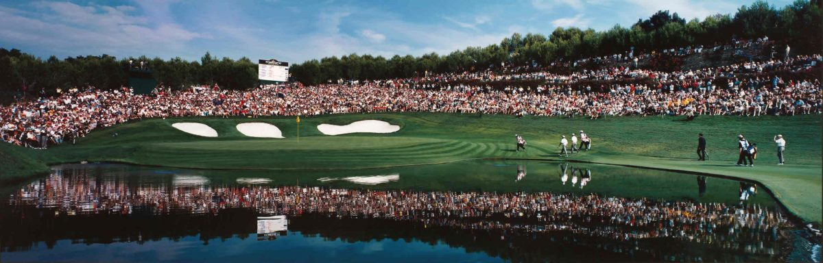 El hoyo 17 en la Ryder Cup 1997. © Andalucía Golf