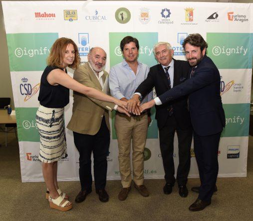 Presentación del Signify Campeonato de España de Profesionales 2018. © Aníbal González