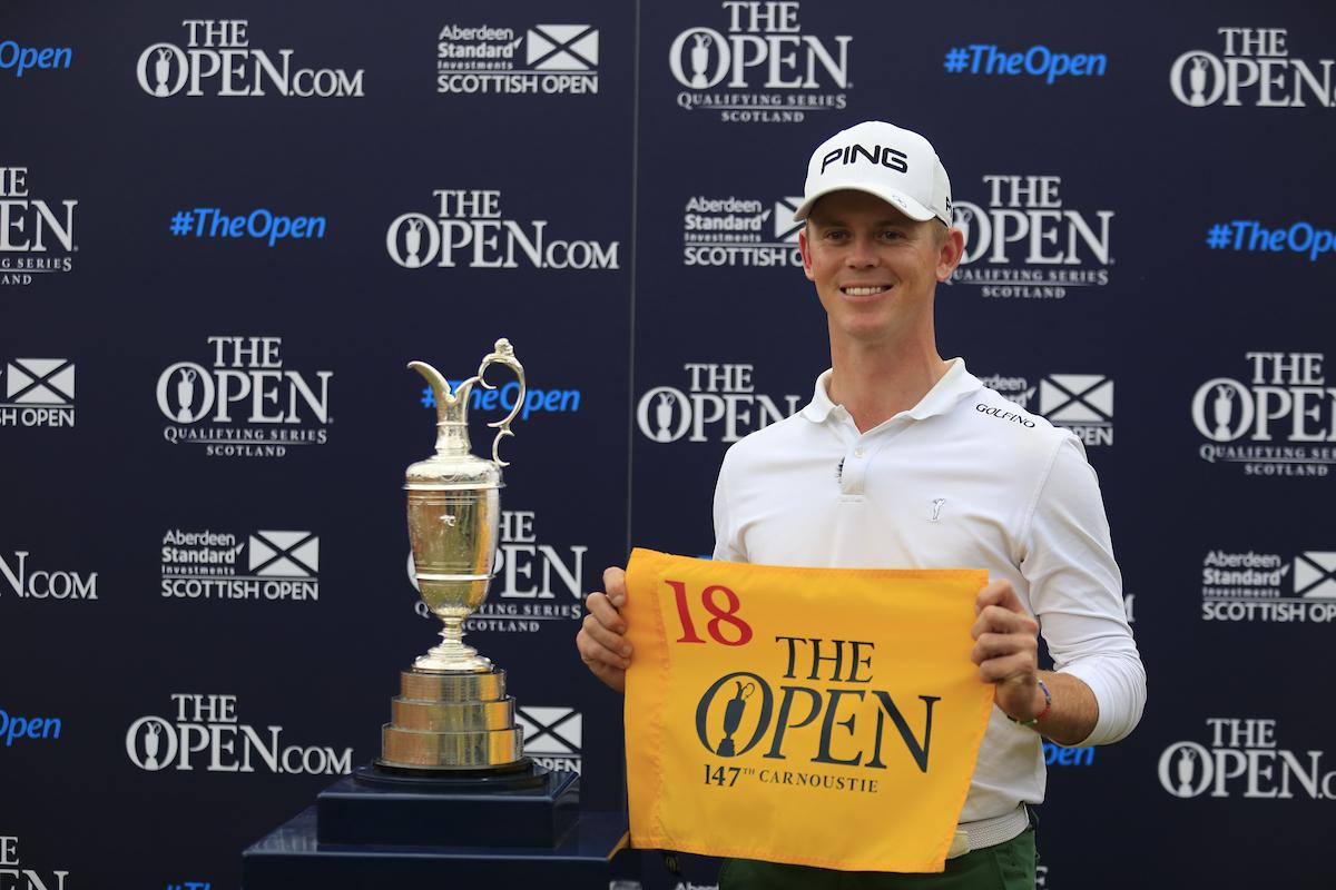 Brandon Stone ha conseguido con su victoria una de las tres plazas en juego para el British Open 2018. © Golffile | Fran Caffrey