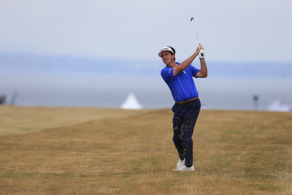 Gonzalo Fernández Castaño en la jornada final del Open de Escocia. © Golffile | Fran Caffrey