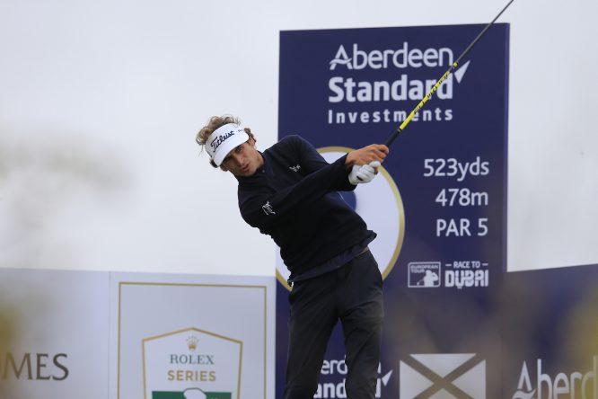 Pedro Oriol esta semana en el Open de Escocia. © Golffile | Fran Caffrey