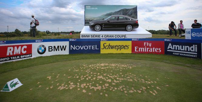 Divots en el Open de Francia © Golffile | David Lloyd