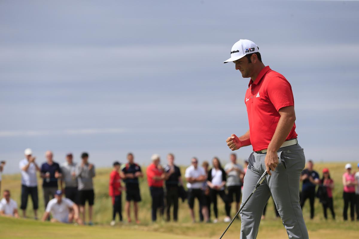 Jon Rahm en la ronda final en Ballyliffin. © Golffile   Eoin Clarke