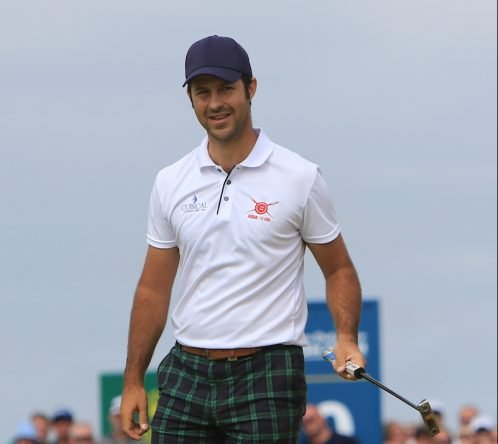 Jorge Campillo en la jornada final del Open de Irlanda. © Golffile | Thos Caffrey