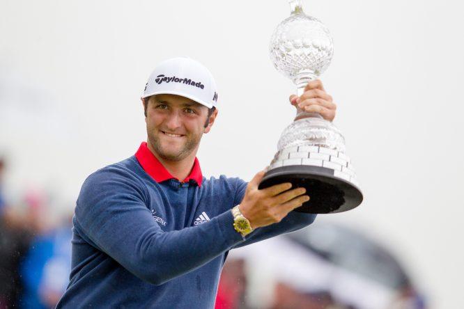 Jon Rahm, ganador en 2017 © Golffile | Fran Caffrey