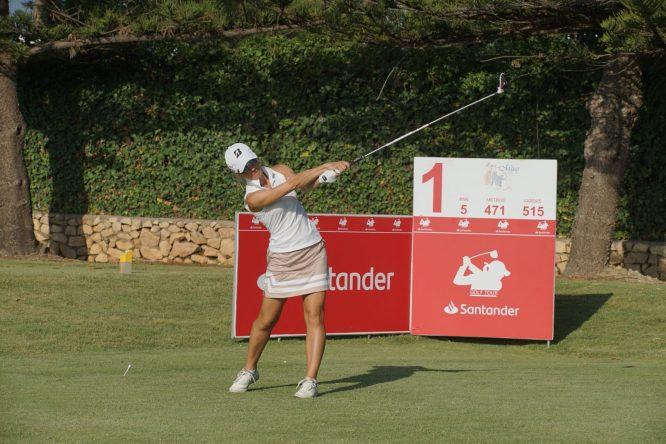 Elina Nummenpaa, ganadora del Santander Golf Tour de Mijas.