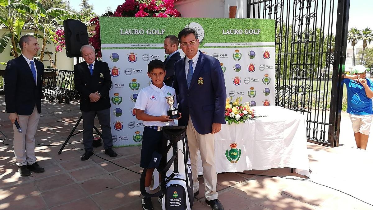 Pablo Mansilla, Presidente de la Real Federación Andaluza de Golf.
