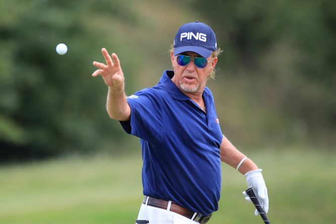 Miguel Ángel Jiménez. © Golffile | Phil Inglis