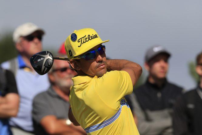 Rafa Cabrera Bello en la jornada final de la 147ª edición del Open Championship. © Golffile | Eoin Clarke