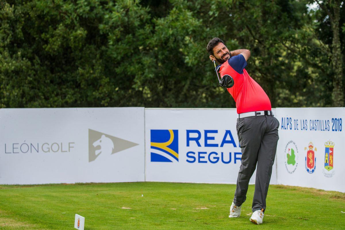 Santiago Tarrío en el León Golf.