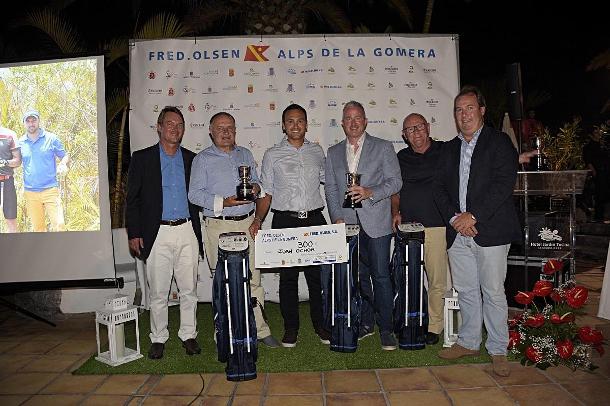 Equipo ganador del Proam. Foto Paulino Díaz.
