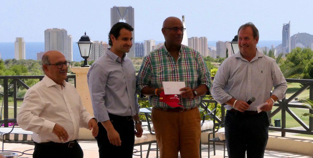 Jorge Armenteros (Cadena Cope), resultó el vencedor del torneo que culminó el viaje de la prensa especializada.