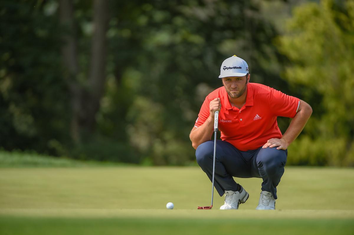 Jon Rahm, durante la última ronda del PGA. © Golffile | Ken Murray