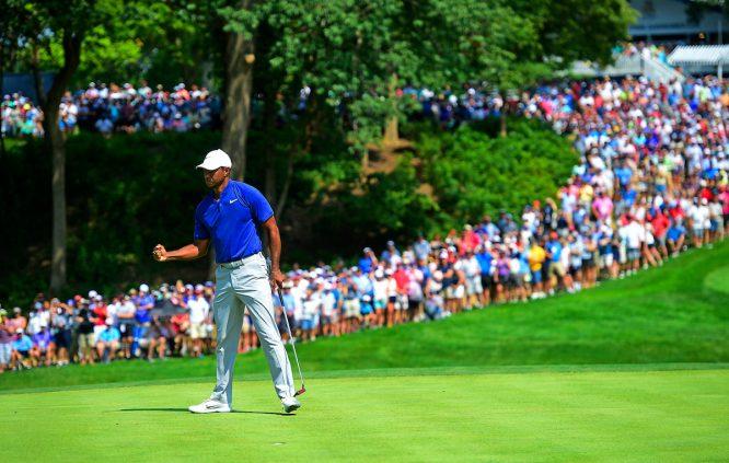 Tiger Woods, en el PGA Championship © Golffile   Tom Russo