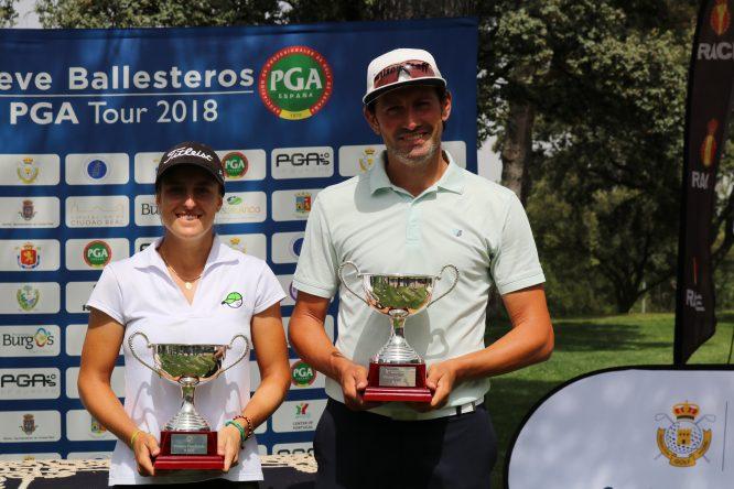 Alfredo García Heredia y Marta Sanz, campeones en el RACE.