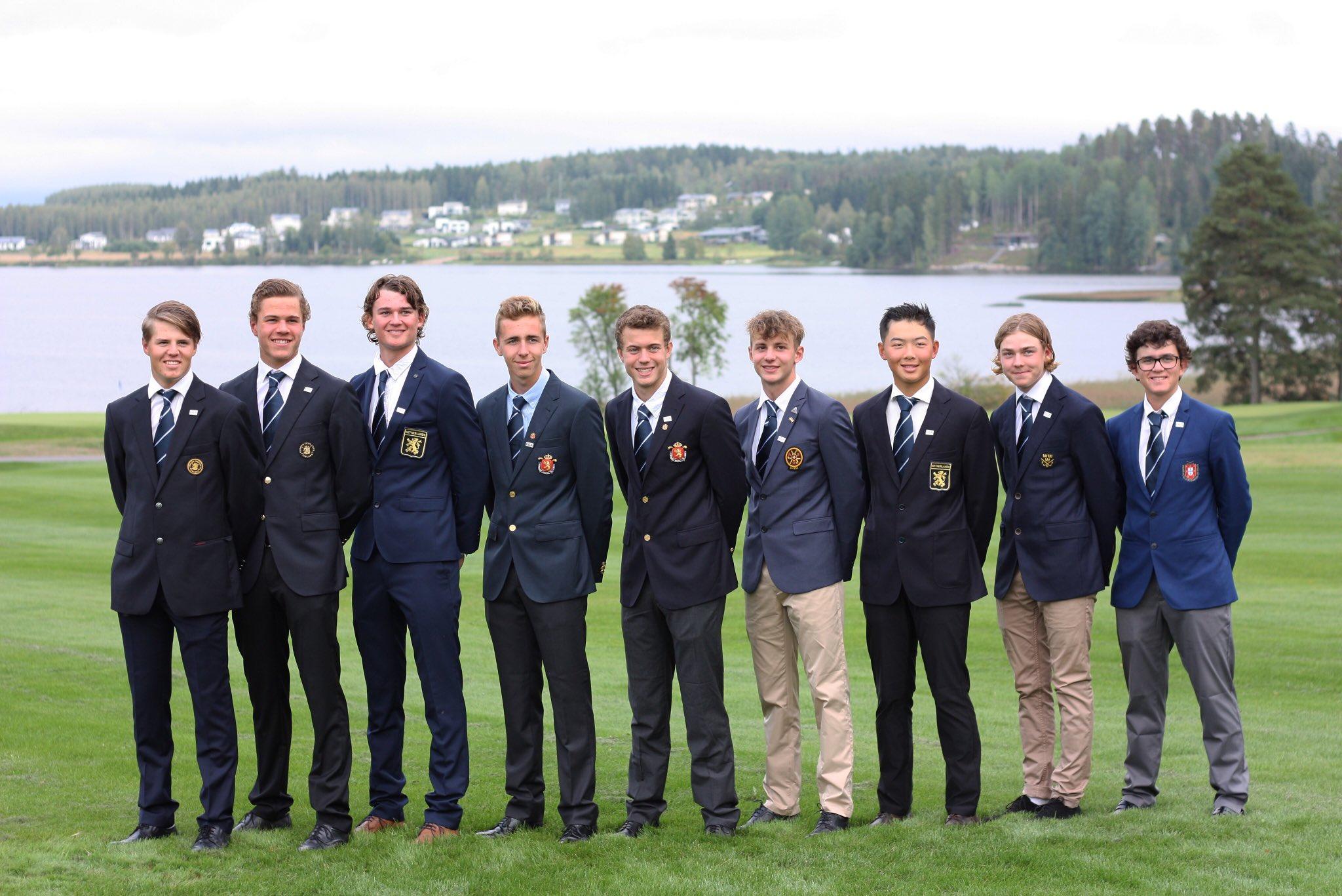 El equipo de la Europa continental al completo. © EGA