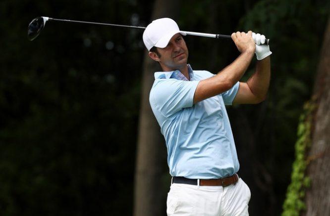 Jorge Campillo, en el PGA Championship.