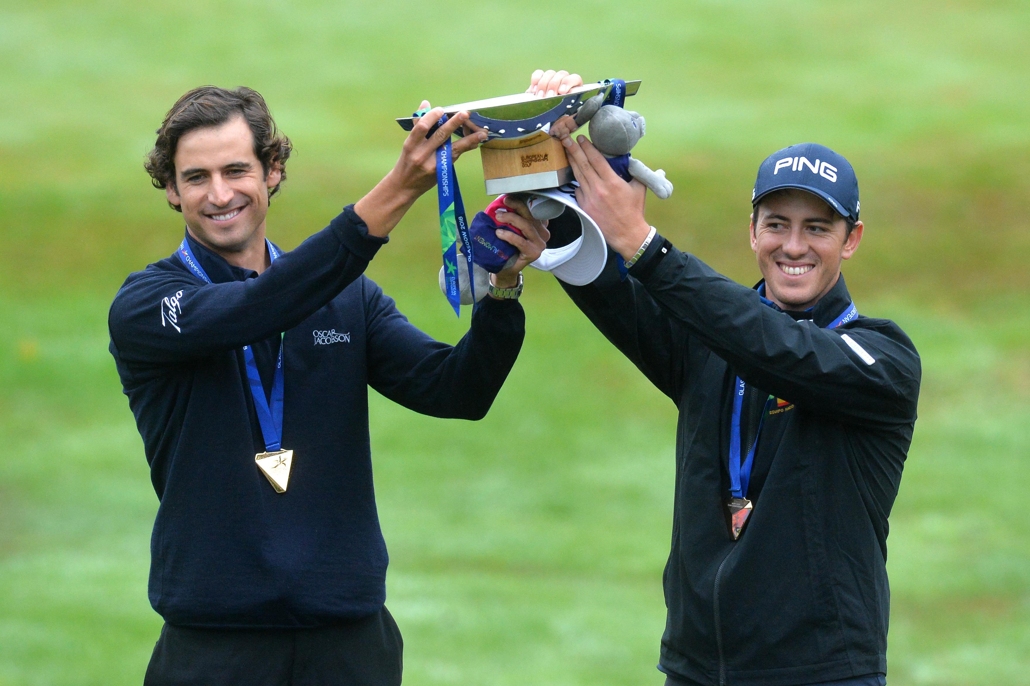 Pedro Oriol y Scott Fernández en el European Team Championships2018 ©Getty Images